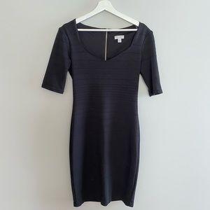 Bisou Bisou Little Black Dress with Sleeves